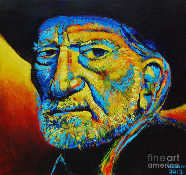 Willie Nelson by Andrew Wilkie