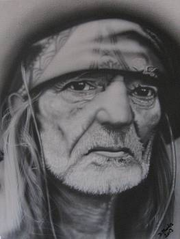 Willie Nelson by Darrell Marks