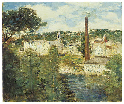 J Alden Weir - Willimantic Connecticut