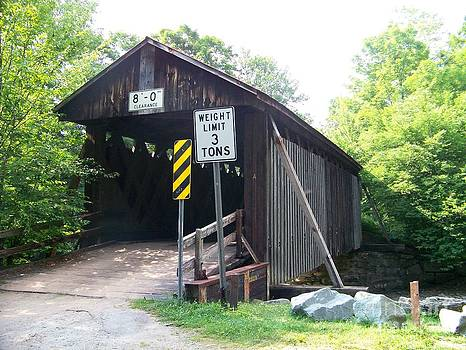Willowemoc Covered Bridge by Kevin Croitz