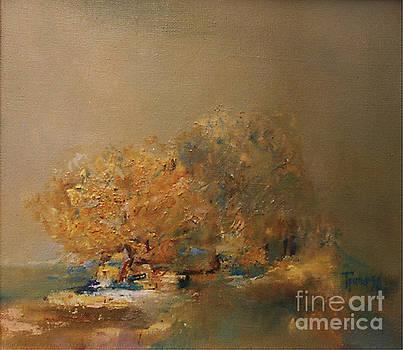 Willows at Noon by Grigor Malinov