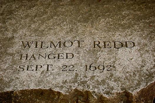 Sherlyn Morefield Gregg - Wilmot Redd Memorial