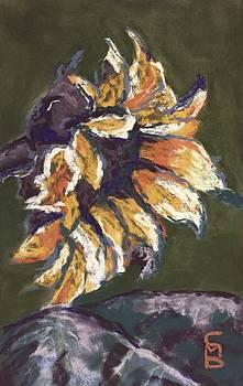 Wilting Sunflower by Cristel Mol-Dellepoort