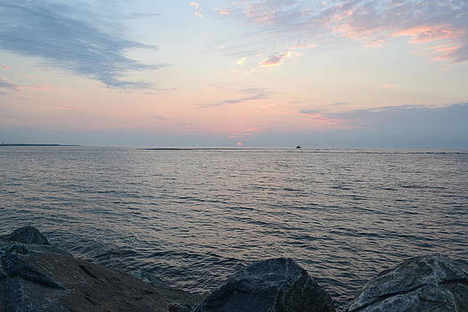 Wilwood Sunrise with Rocks by Tim Toomey