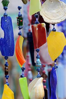 Wind chimes  by Ronald Hanson