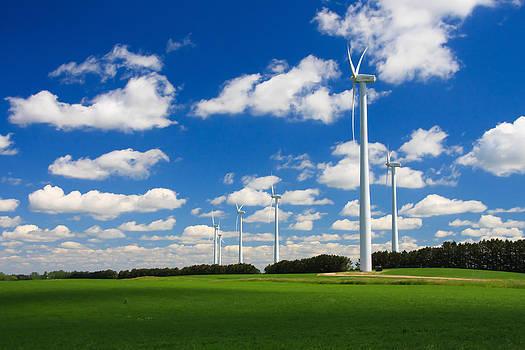 Wind Farm by Bob Mintie