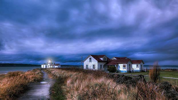 Wind Sky by Anthony J Wright
