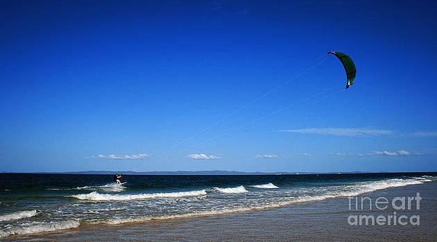 Wind Surfer by Sarah Sutherland