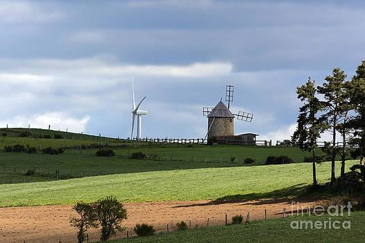 BERNARD JAUBERT - Wind turbine and windmill