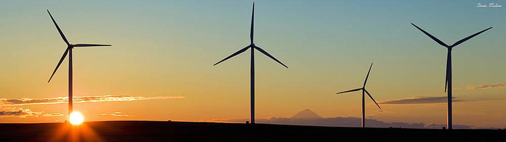 Wind Turbines by Lorrie M Nelson