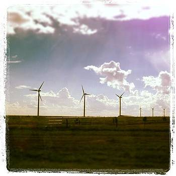#windenergy #texas #panhandle #dumas by Greta Olivas