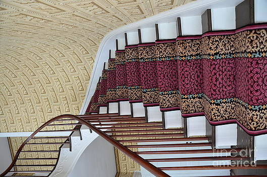 Winding Staircase by Kathleen Struckle