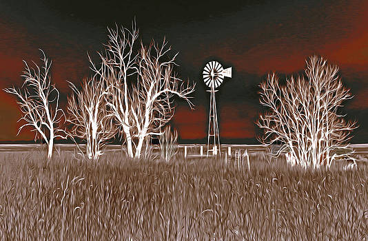 James Steele - Windmill Night Fantasy