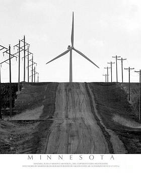 Windmill on Country Road by Kimberly Blom-Roemer