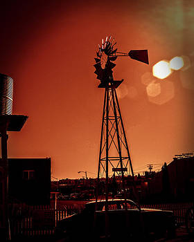 WindMill On Route66 by William Havle