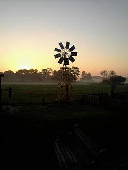 Windmill Sunrise by Edward Pebworth