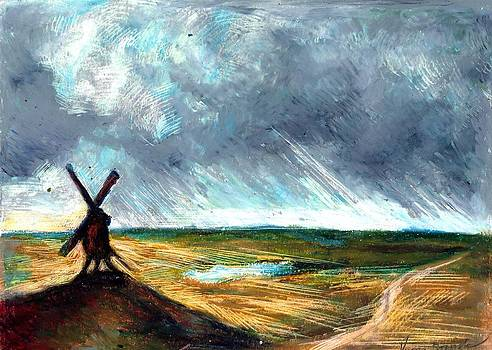Windmill by Victoria Stavish
