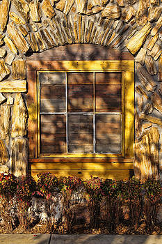 Window at Babe's Chicken by Kathy Churchman