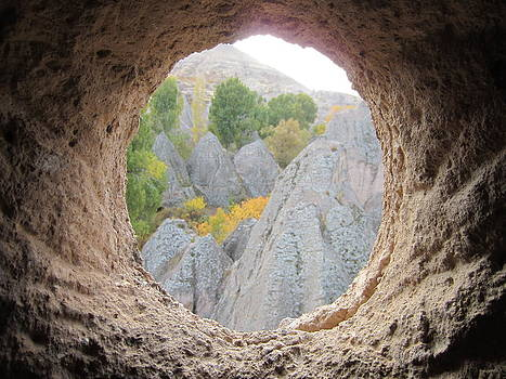 Window on Cappadocia by Stefanie Weisman