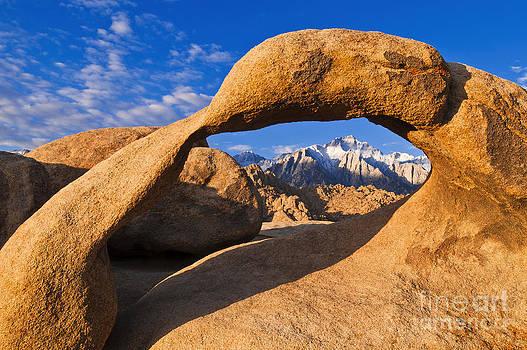 Window to the Sierra Nevada by Russ Bishop