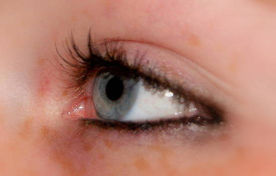 Window to the soul by Michelle Cawthon