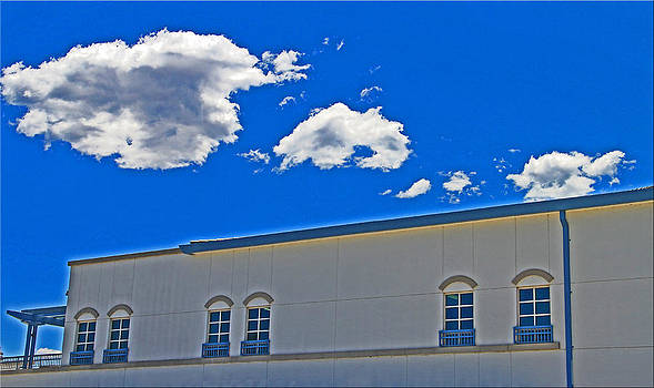 Windows And Clouds by Chet King