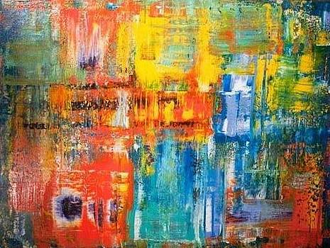 Windows of Light by Tanya Lozano Abstract Expressionism