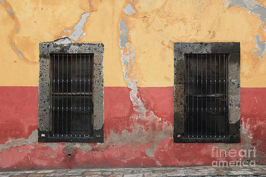 Oscar Gutierrez - Windows on Weathered Wall