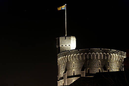 Windsor Castle by Linda Freebury