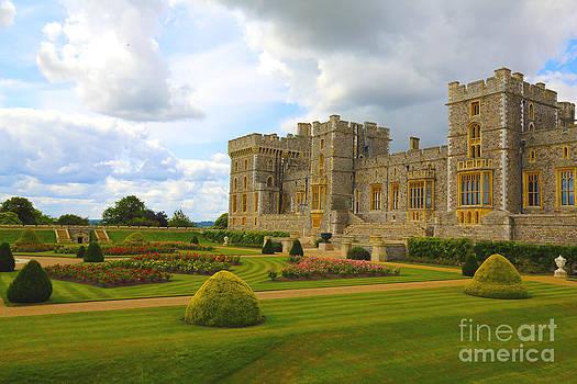 Windsor Castle Terrace Gardens by Dan Hilsenrath