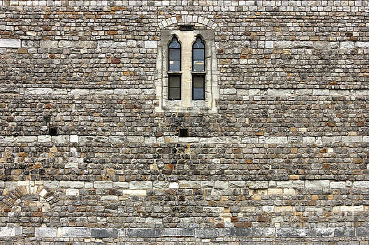 Windsor Castle Wall Detail by Kiril Stanchev