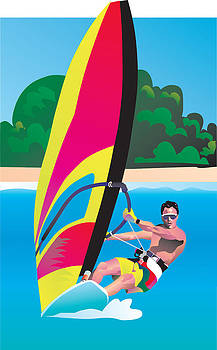 WindSurf Art by Robert Korhonen