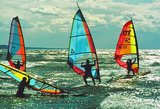 Dennis Cox - Windsurfers