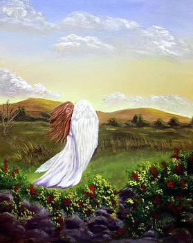 Windswept Angel by Dawn Blair