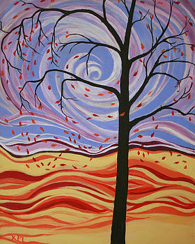 Kathy Peltomaa Lewis - Windswept