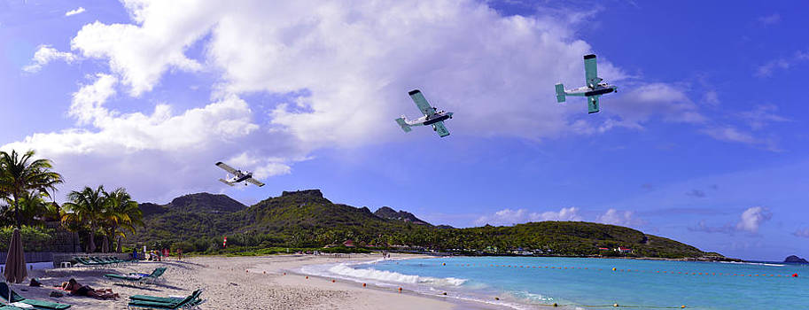 Matt Swinden - Windward Express takeoff from St Barts