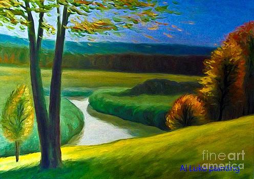 Algirdas Lukas - Windy autumn 2