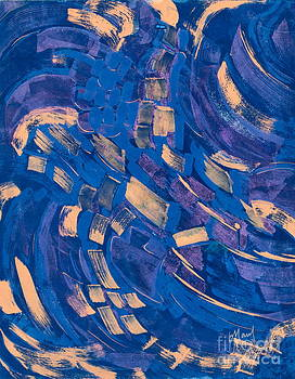 Windy Blue by Barb Maul