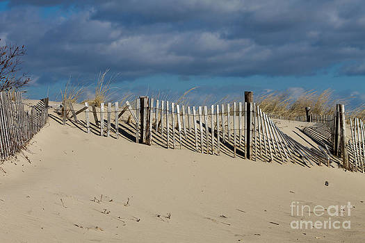Windy Day at the Beach by Deb Kline