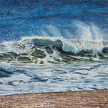 Windy Day- Left of Diptych by Eric Soller