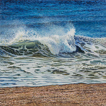 Windy Day-Right Side Diptych by Eric Soller