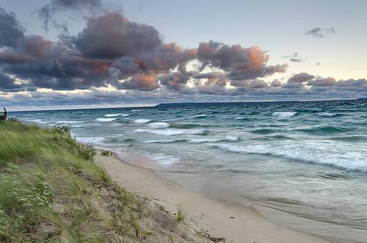 Windy Sunrise by Thomas Pettengill