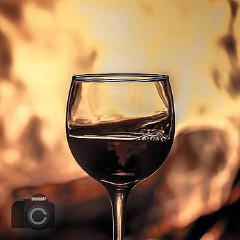 Wine and Fire by David Lopez