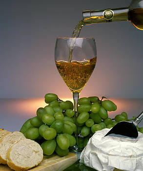 Wine and Cheese by Shellie Mick
