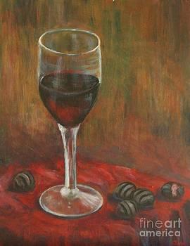 Wine and Chocolate by Jana Baker