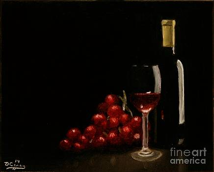 Wine and Grapes by Dave Casey