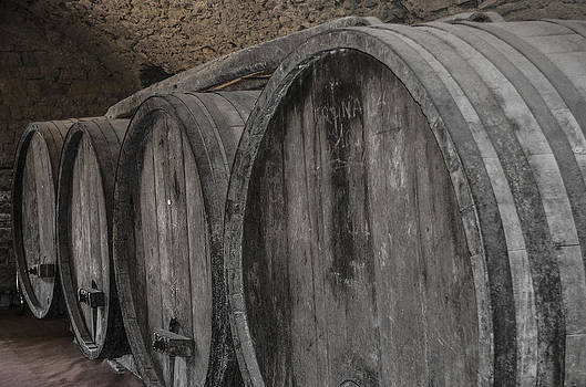 Wine Barrels by Dany Lison