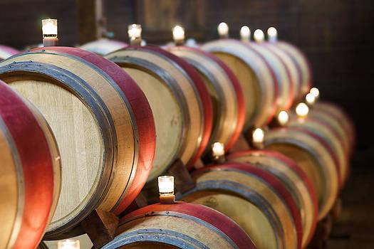 Wine Barrels by Francesco Emanuele Carucci