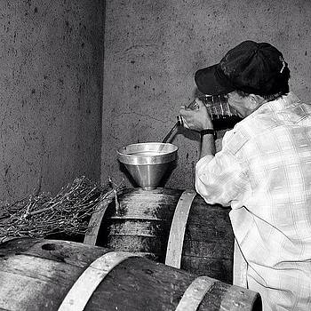 #wine #barrels #portugal #blackandwhite by Essy Dias