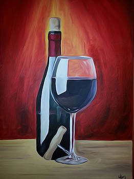 Wine Bottle by GR Cotler